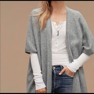 Aritzia Community Cape Sweater